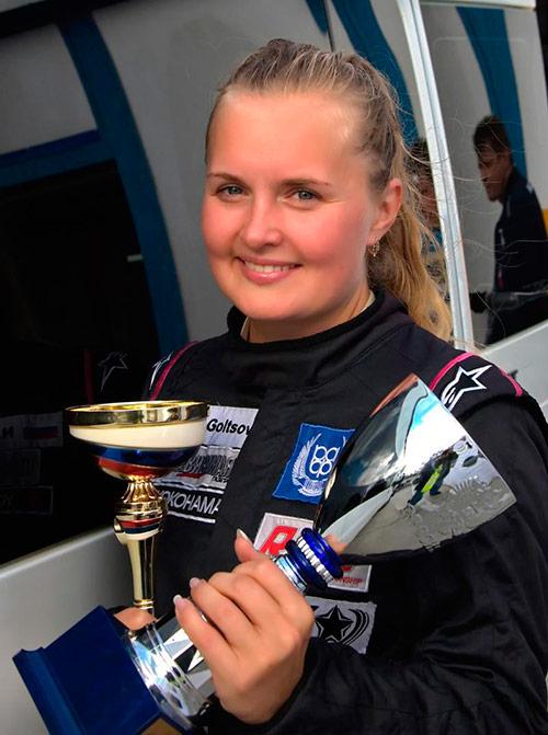 Наталья Гольцова - дочь легендарного гонщика