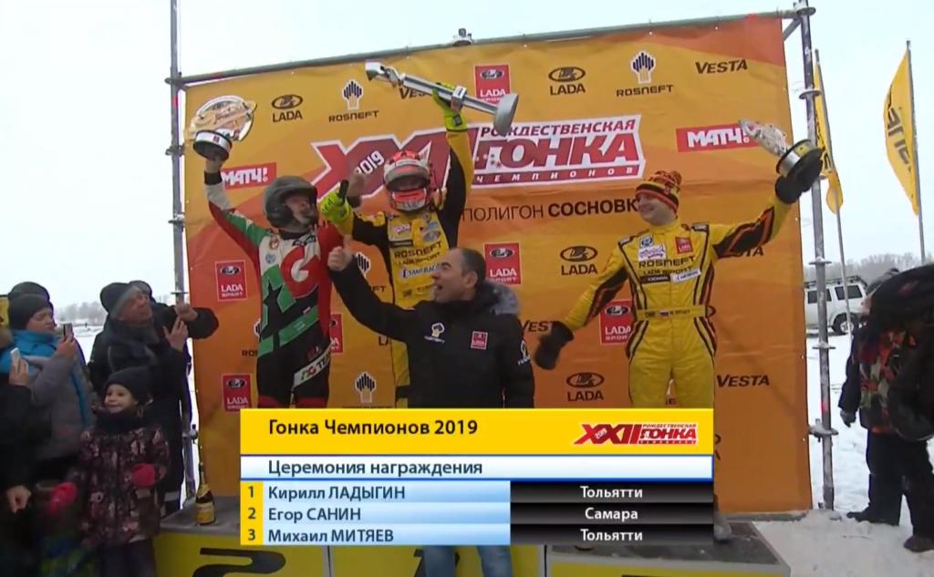 XXII Гонка Чемпионов 2019 в Тольятти: Кирилл Ладыгин - шестикратный победитель!